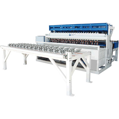crimped Double Fully automatic welded wire mesh machine