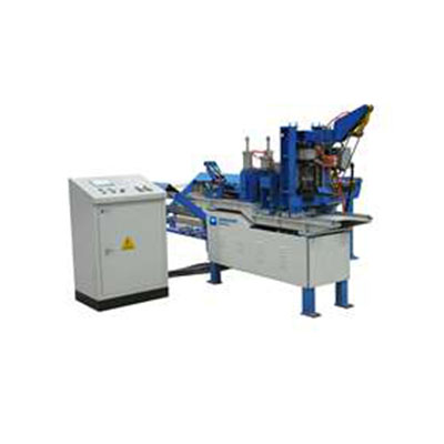 Bird cage wire mesh production line