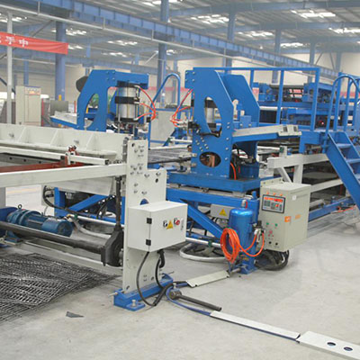 Shelf mesh welding machine