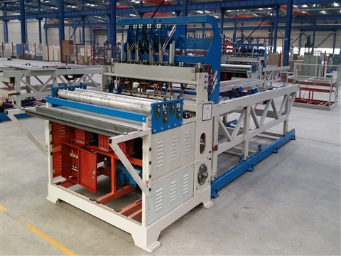 Animal cage wire mesh welded machine
