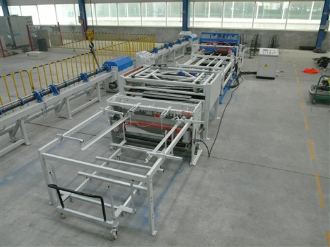 Cage welded production line