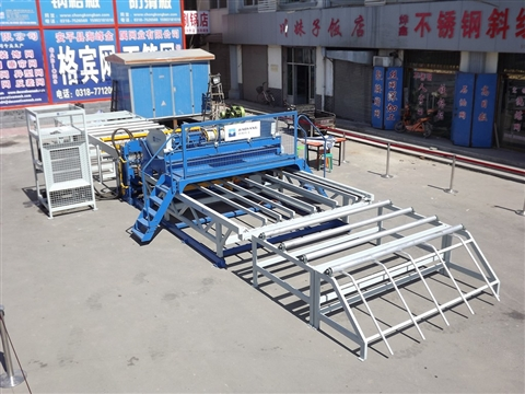Advantages of reinforcing wire mesh welding mesh machine produced by Jiaoyang