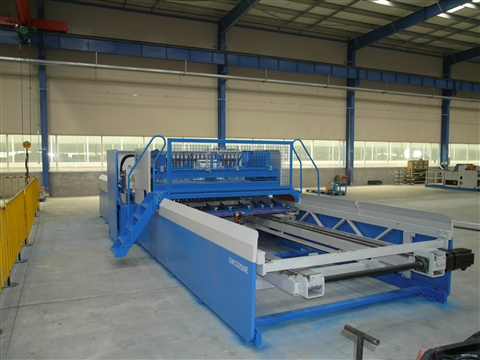 The advantages of the reinforced wire mesh welding machine in the Jiaoyang