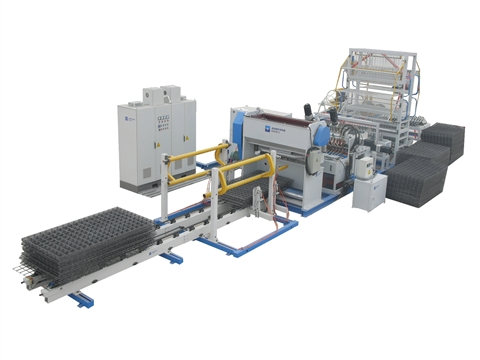 reinforcement wire mesh welding production line