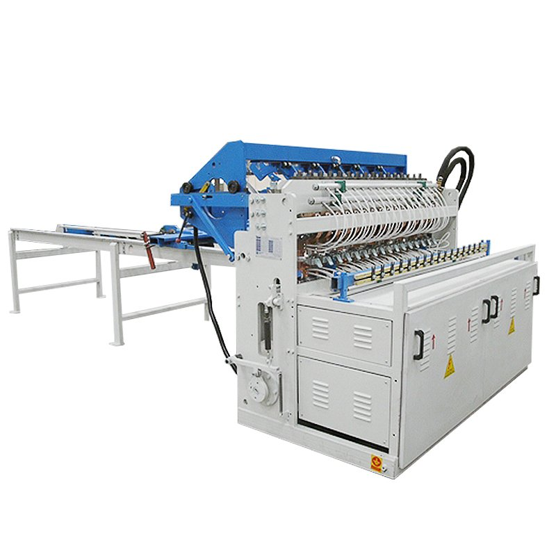Details Of Welded Screen Machine