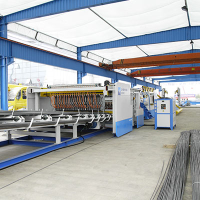 Rebar wire mesh making machine manufacturer