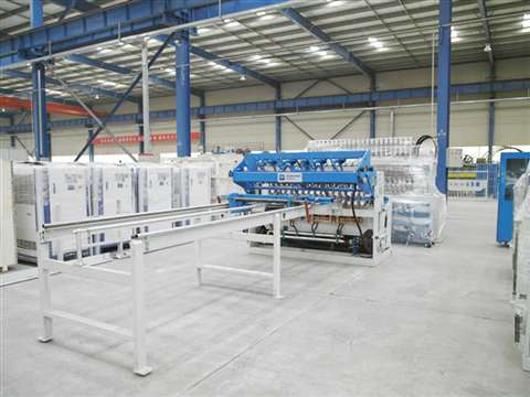 Security fence machine to india