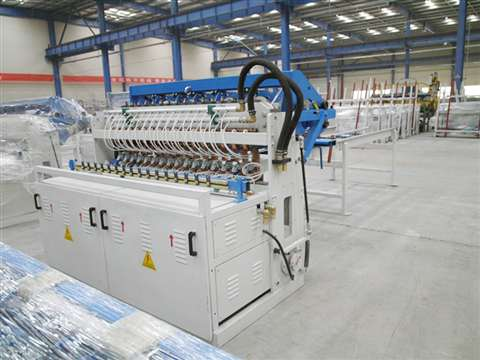 fencing panel wire mesh welding production line