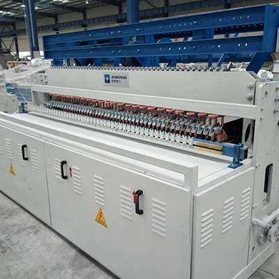 temporary fence welded wire mesh machine