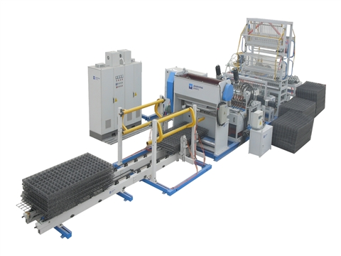 Steel mesh welded mesh machine structure