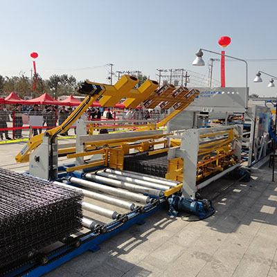 China concrete wire mesh machine supplier