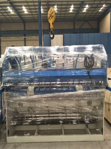 wire mesh machine deliver