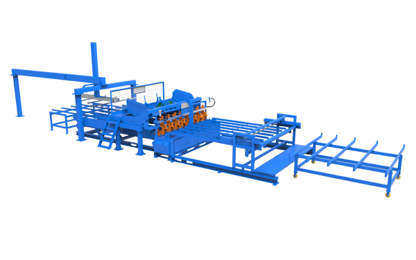Jiaoyang security fence mesh welding machine