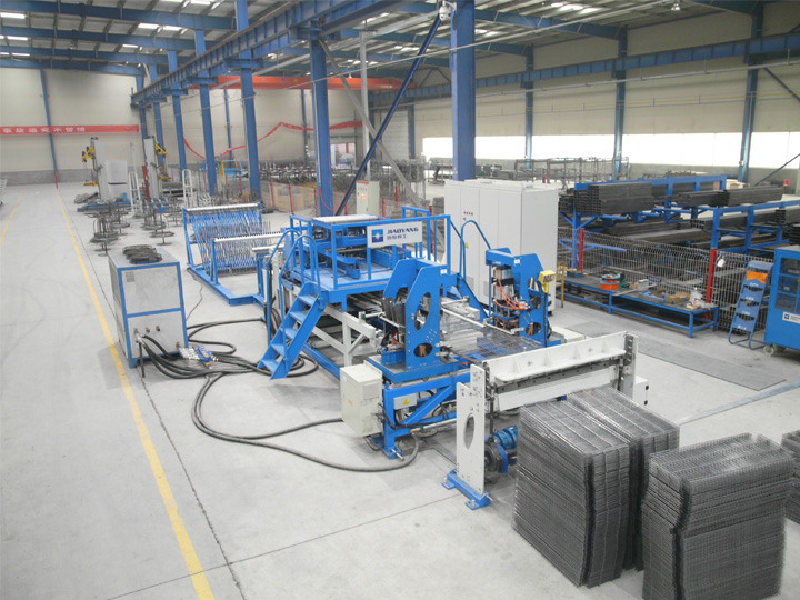 Jiaoyang shelf mesh welding machine