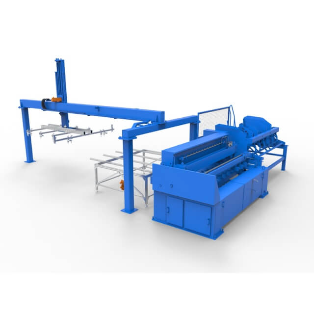 double wire fence mesh welded production line